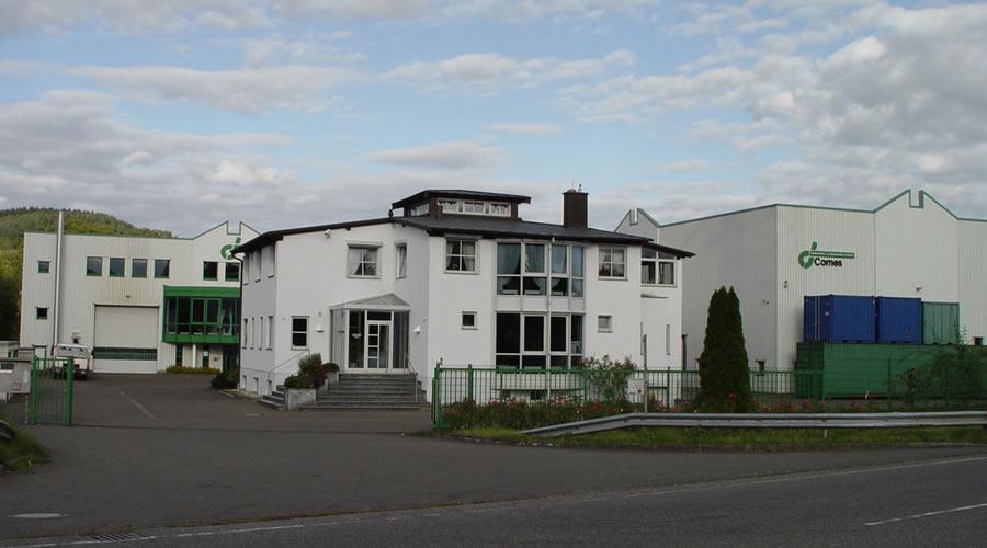 1996 : Bezug der Betriebsst�tte in der Seiferstra�e 16 in Trier - Ehrang.