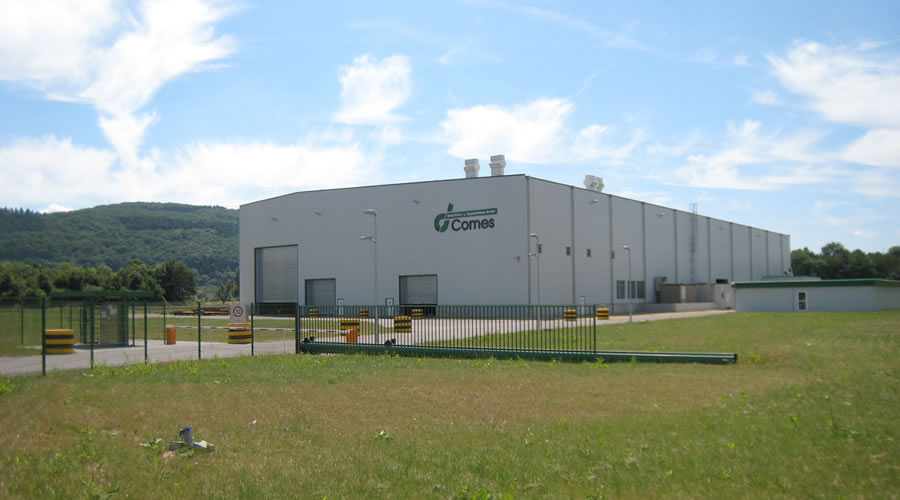 Einweihung der Fertigungs- und Montagegehalle in der Montanstra�e 12 im Trierer Hafen im September 2009.